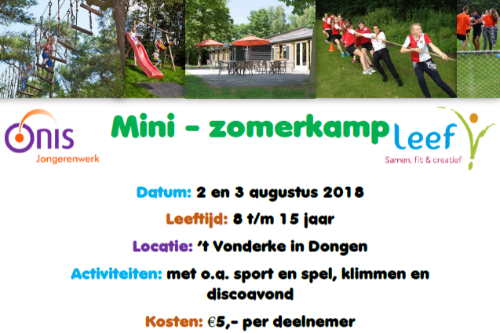 Mini-Zomerkamp